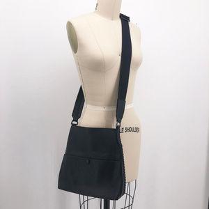 CALLISTA Iconic Tumbled Leather Slim Crossbody Bag